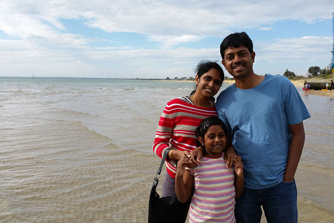 Sridhar Katakam and family!