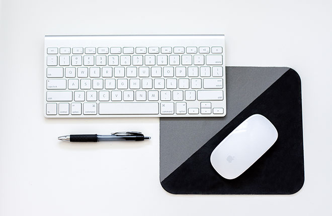 Keyboard, mouse and pen